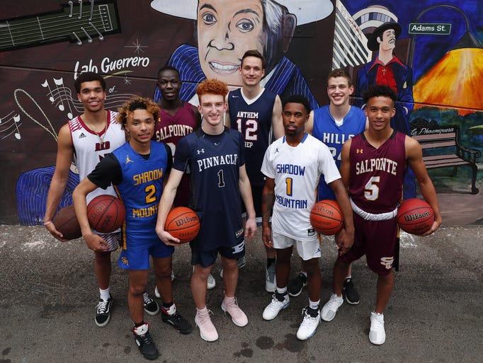 The eight nominees for Arizona High School Boys Basketball