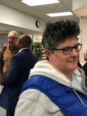Alison Segar, a Burlington parent, warned the School Board that the community was watching on April 3, 2018 at Hunt Middle School.