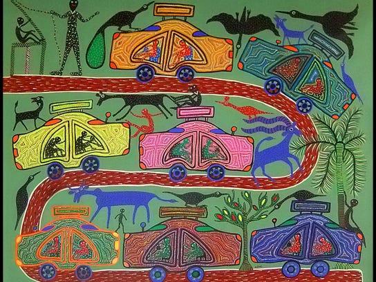 dcn 0517 ellison bay art crawl Sutra Gallery