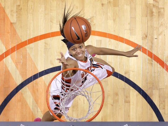 Miner guard Cameasha Turner has excelled at UTEP after