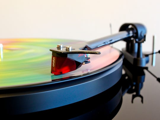 Vinyl records, which have experienced a sales boom in the last seven years, increased from 1 million to 6 million units sold in 2013.