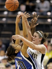 Former Warlassies basketball player Corinne Groves-Neal,