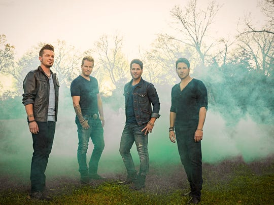 Parmalee, a North Carolina-based country rock band, is scheduled for the songwriters' fest.