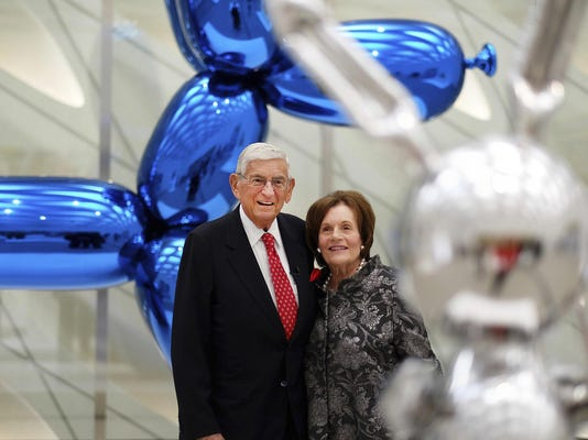 Eli Broad and Edye Broad, Eli Broad and Edythe Broad