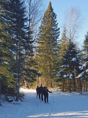 Minocqua Winter Park's trails are great for both beginners and expert skiers.