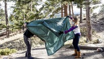 Moraine Park Campground is the only year-round campground in Rocky Mountain National Park.