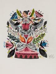 Nicole Konecke, Birds of Paradise; Kohler High School, grade 11.