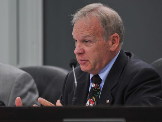 Brevard County Commission Chairman Curt Smith says