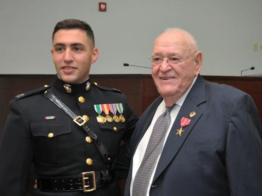 Norman Heller awarded Bronze Star