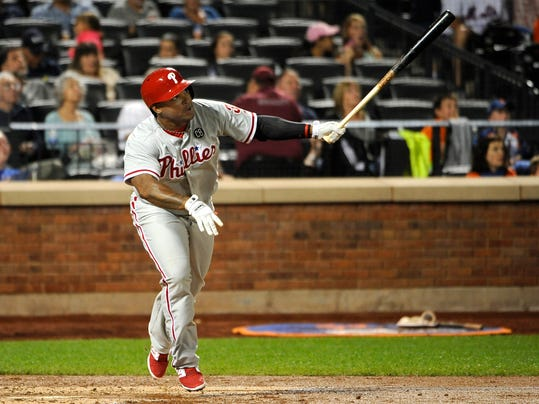Phillies Mets Baseball (2)