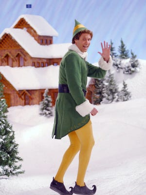 Will Ferrell in a scene from the 2003 holiday film ELF.