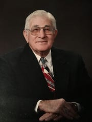 The Honorable Edwin Preis, Mayor of Newellton, Louisiana, from 1966 until 2000.