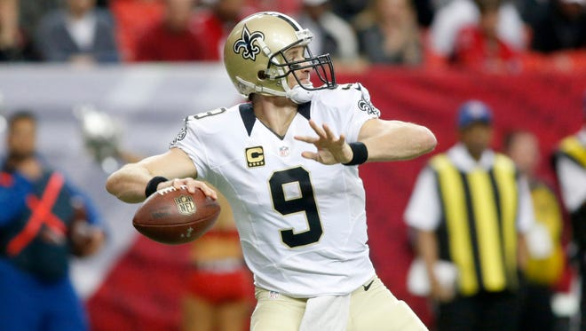New Orleans Saints quarterback Drew Brees has most of his contract guaranteed.