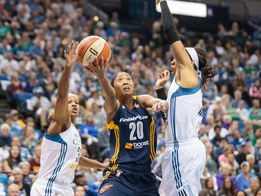WNBA: Indiana Fever at Minnesota Lynx