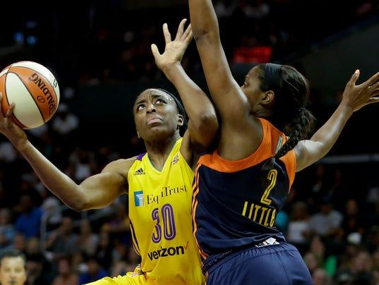 AP AROUND THE WNBA BASKETBALL S BKL FILE USA CA