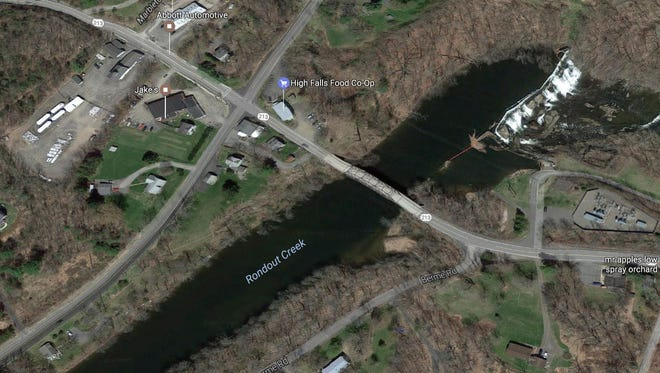 A bridge spanning the Rondout Creek in High Falls will close for major repairs.