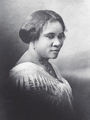 America's first self-made female millionaire Madame C.J. Walker Courtesy of Madam Walker Family Archives