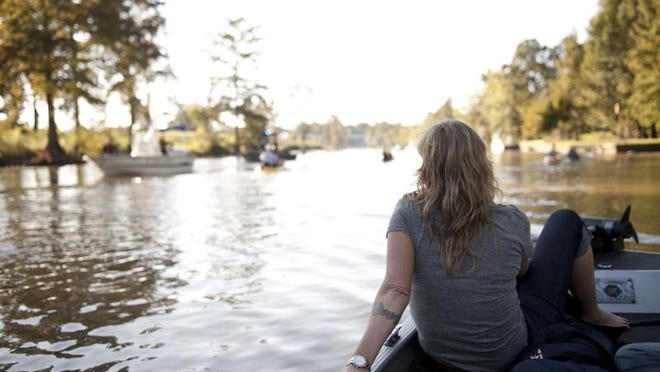 """Historically, the Vermilion was formed in two different sections, said Emile Ancelet, Bayou Vermilion District's water quality coordinator. """"The southern part was formed by head water erosion and eventually connected to the northern section; the bayou met the river."""