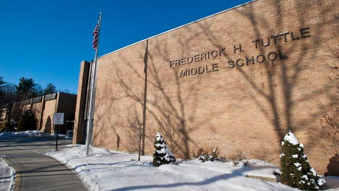 Frederick H. Tuttle Middle School in South Burlington.