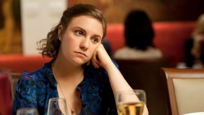 "Lena Dunham portrays Hannah Horvath in a scene from the HBO hit series ""Girls."""