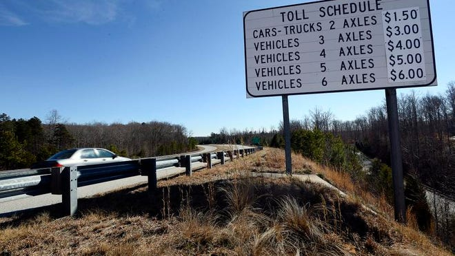 The Southern Connector turned in its best year ever in 2013, collecting nearly $7 million in toll revenue. It is a hopeful sign for the financially bedeviled toll road.