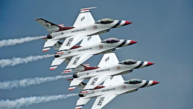 The Air Force Thunderbirds will headline Columbus Air Force Base's open house this weekend.