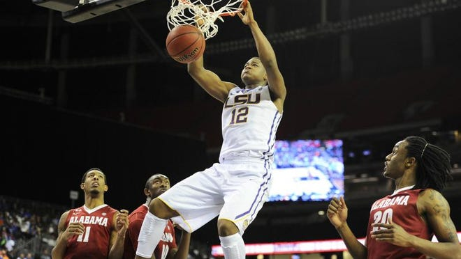 LSU's Johnny O'Bryant will enter the NBA Draft.