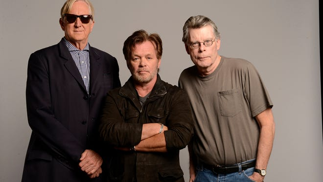 "The creative team of ""Ghost Brothers of Darkland County"" (from left): T Bone Burnett, John Mellencamp and Stephen King."