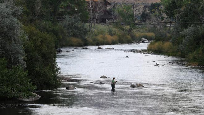 The Truckee River above Mayberry Park in a file photo.