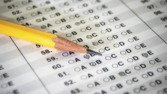 Standardized Test with Pencil
