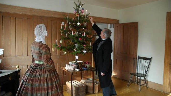 The Wade House will host a Christmas celebration on Saturdays and Sundays in December when guests can experience the sights and sounds of an 1860s Wisconsin Christmas celebration.