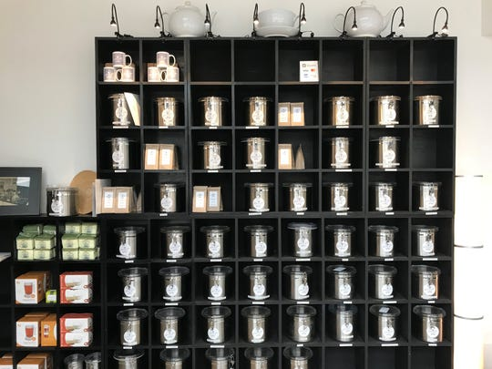 The Jackson Avenue Tea Company has opened at 555 W. Jackson Ave.