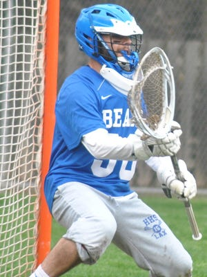 Hawthorne senior goalie Jared Chichizola was one of two Bears named to the All-Passaic County second team.