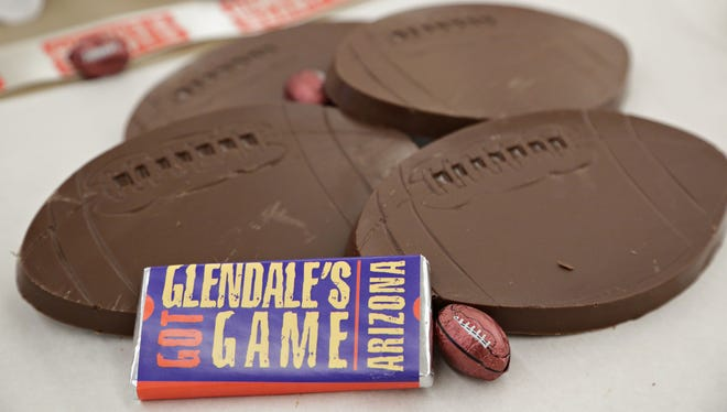 Cerreta's Candy Co. will be chock-full of Super Bowl chocolates during the annual Glendale Chocolate Affaire.