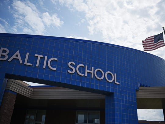Baltic School Tuesday, May 9, 2017, in Baltic, S.D.