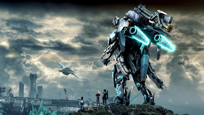 """Xenoblade Chronicles X"" for the Wii U."