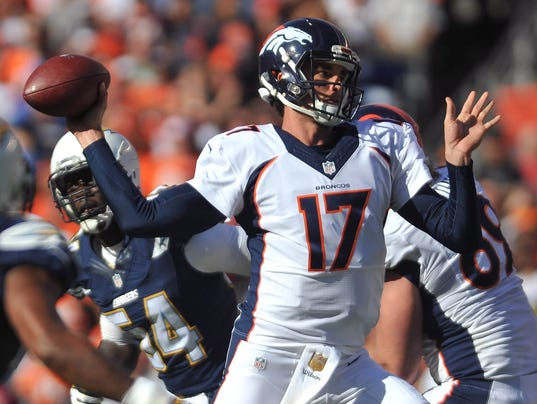 Brock Osweiler Stays Unbeaten As Broncos Starter With Win