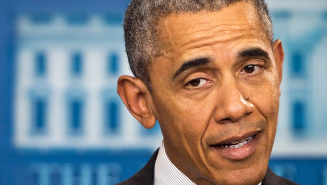 President Obama speaks about new rules aimed at deterring tax inversions Tuesday,