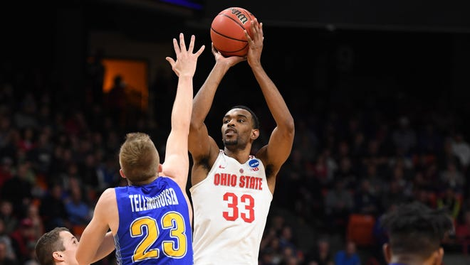 Keita Bates-Diop (No. 22 in USA TODAY Sports' mock draft) - 24 points and 12 rebounds in first-round win over South Dakota State.