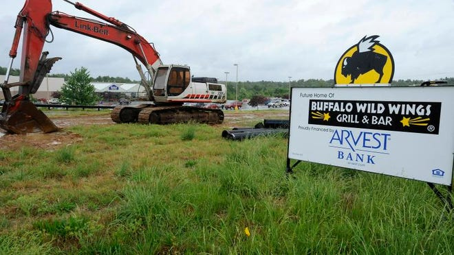 A future generator of sales tax revenue for Baxter County will be the opening in the coming months of a new Buffalo Wild Wings franchise in the Hometown Commons off the Sheid-Hopper Bypass.