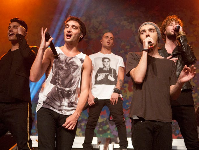 The Wanted performs in the Egyptian Room at Old National Centre, Thursday, May 15, 2014.