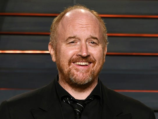FILE - In this Feb. 28, 2016 file photo, Louis C.K.