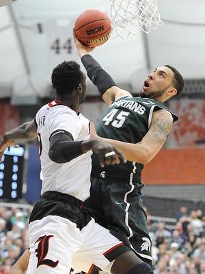 MSU and Louisville will meet tonight at the ACC/Big Ten Challenge at the Breslin Center.