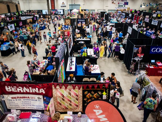 Hundreds of people attended the What Women Want Expo