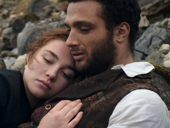 "Florence Pugh and Cosmo Jarvis star in ""Lady Macbeth."""