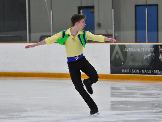 Ivan Mokhov from Mason is headed to the 2017 US Figure