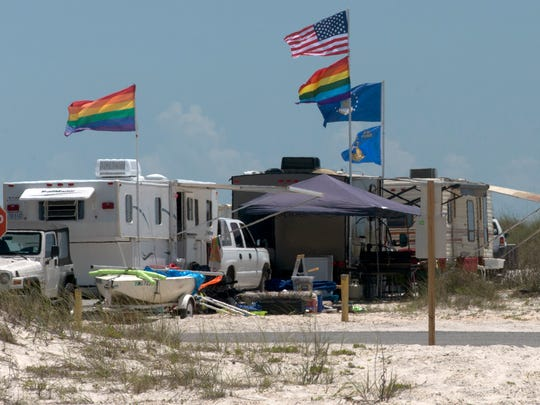 By Tuesday morning, some visitors to Pensacola Beach have already started their Memorial Day Weekend vacations.