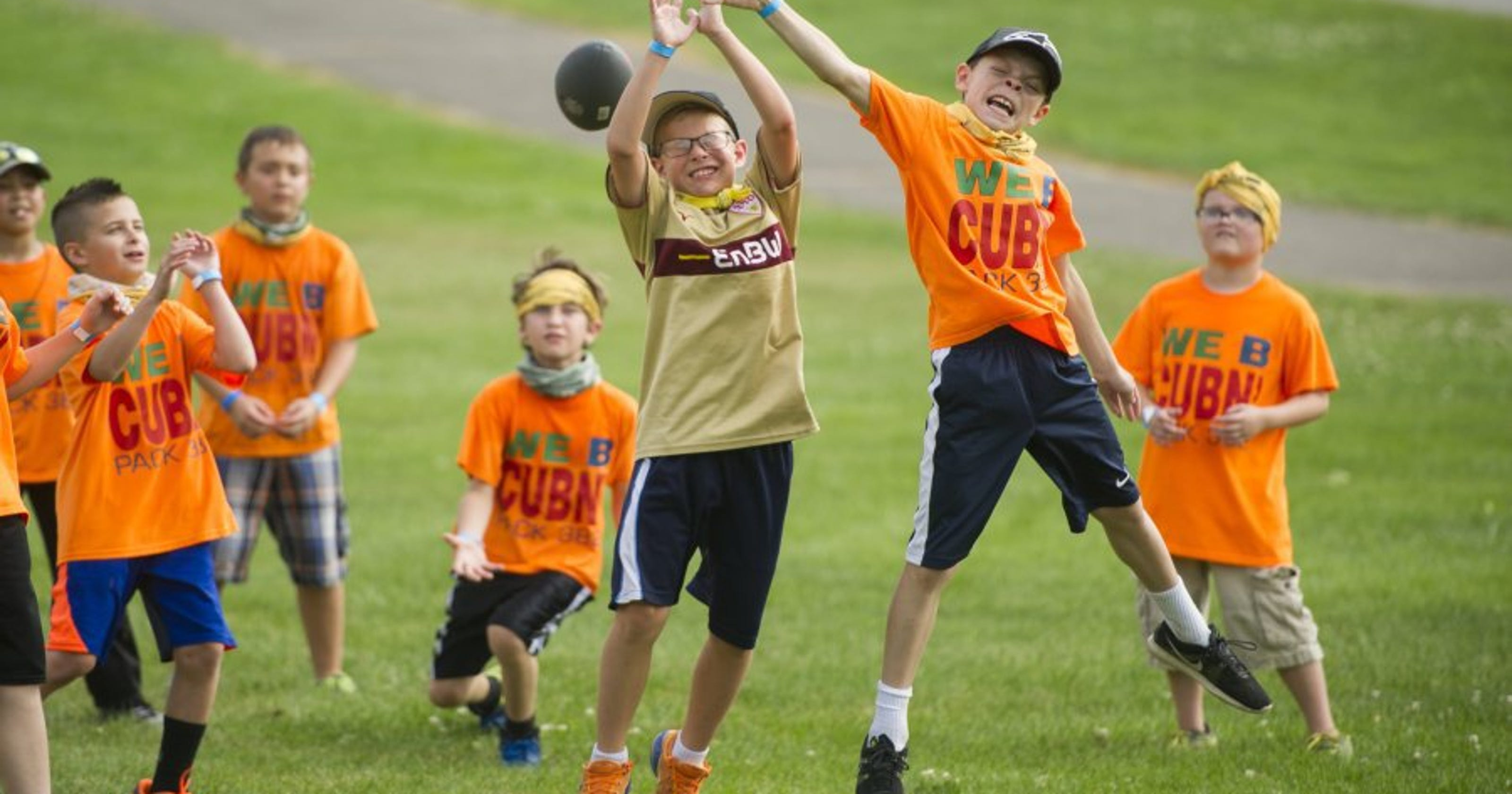 Cub Scouts brave heat, head 'Down on the Farm' for annual camp
