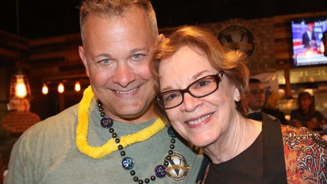 Scott Van Duzer and Fort Pierce Mayor Linda Hudson