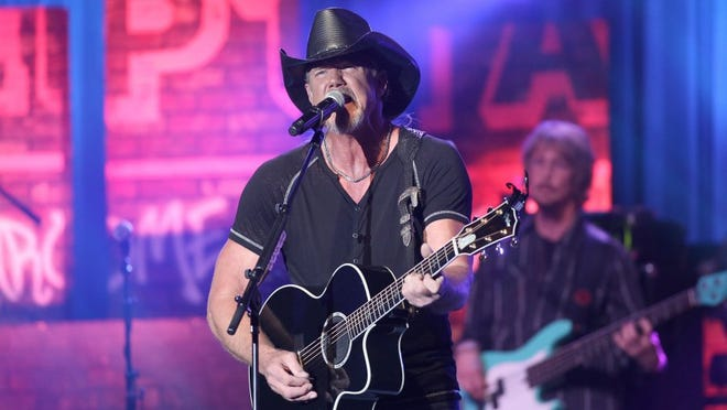 Country musician Trace Adkins, shown here in New York in 2014, will perform Feb. 11 at the Fred Kavli Theatre in Thousand Oaks in a benefit for the victims and families of the Borderline Bar & Grill Shooting. DONALD TRAILL/INVISION/AP